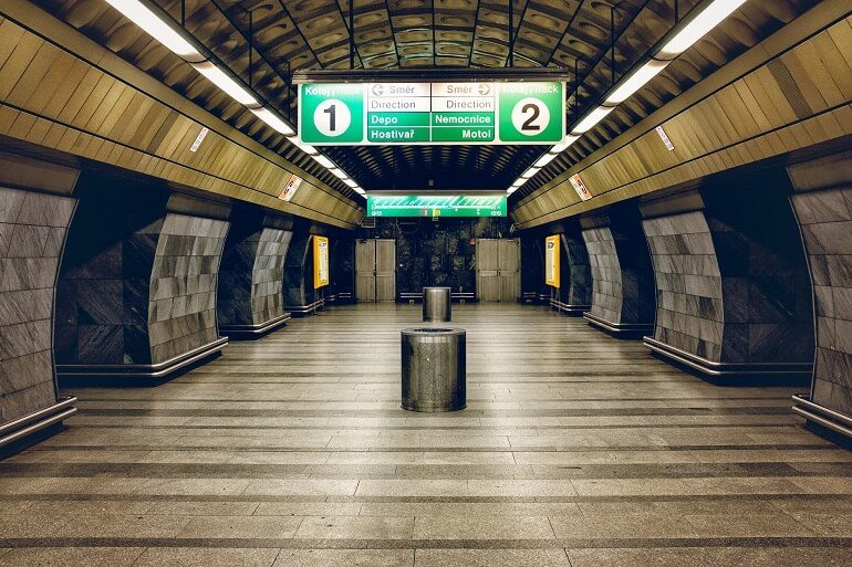 Станция метро Праги