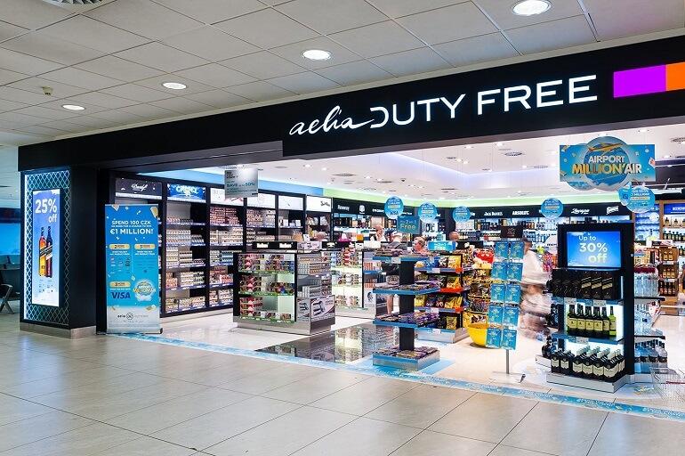 Магазины Duty Free в аэропорту Праги