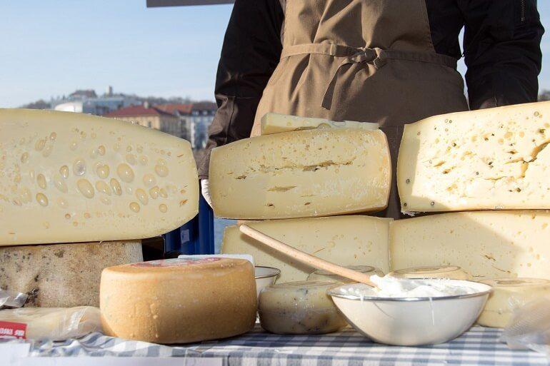 Сыр из Чехии в качестве сувенира