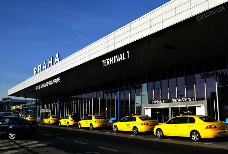 Такси из аэропорта Праги