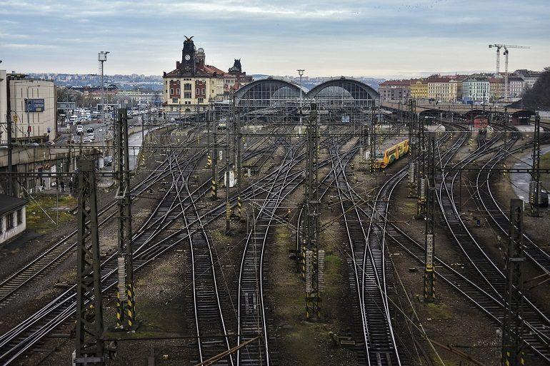 Центральный железнодорожный вокзал Праги