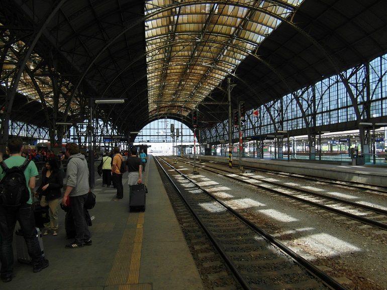 Главный жд вокзалл Праги
